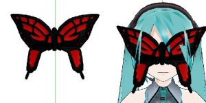 MMD-  Butterfly MAsk-DOWNLOAD by MMDFakewings18