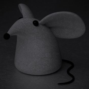 Mouse... IN 3D!!! by ManWithAJawharp