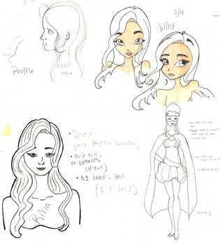 Rina's Sketches by Me-Random-Thoughts