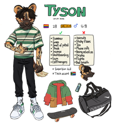 Tyson Reference by Luxjii