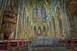 Saint Vitus's Catherdral HDR by lesogard