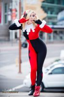 Classic Harley Quinn by MaiseDesigns