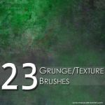 Grunge and Texture Brushes by macys