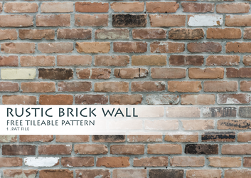 Rustic Brick Wall Pattern by theAllex