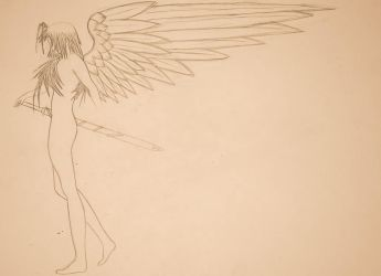 Angel... Thing. W.I.P by umbreontbh