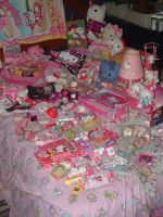 My Hello Kitty Collection by nightmare58710