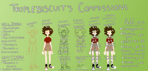 Commission Prices 2018 by triple-biscuit