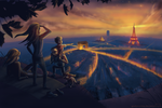 Sunset Picnic in Paris by goofymoNkey