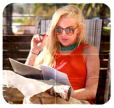 Lohan frame by addicted-to-fashion