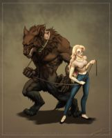 The Beauty and The Beast: Rendition by SBGothik