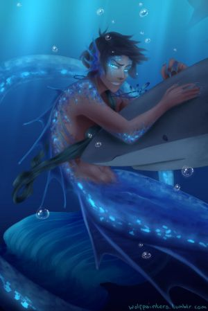 Memaid LanceXArtist Reader- The Love of a Mermaid by jinxx-is-the