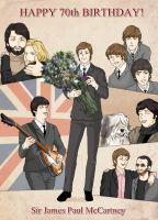 HAPPY BIRTHDAY PAUL McCARTNEY by ayumi58