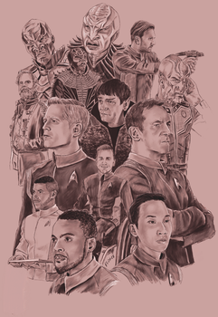 The Men and the Kelpien of Star Trek Discovery by Dahkur