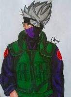 Drawing Kakashi by Demy by Demy111