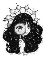 center of the universe by selene-bunny