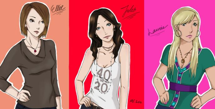 The Cougar Town Women by inicka