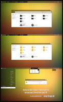 Tiano Glass Minimal Theme Win10 April 2018 Update by Cleodesktop