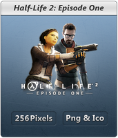 Half-Life 2 Episode One - Icon by Crussong