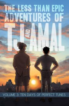 TJ and Amal Volume 3 front cover by bigbigtruck