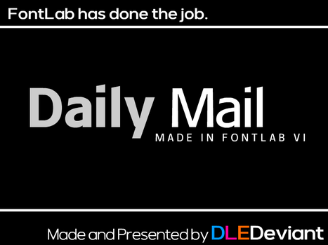 Daily Mail (Original Font) by DLEDeviant