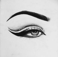 Eye Sketch by ArtClaudia