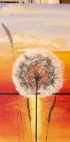 Dandelion Sunset by SmashArtistry