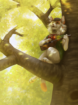 Song of the Woods by Imaginary-Rat