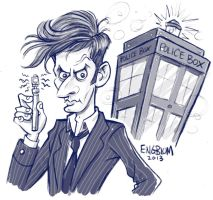 The Doctor (10th Incarnation) by mengblom
