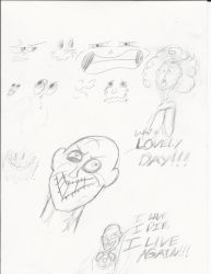 Random Miscellaneous Sketches (2) by Magipie9