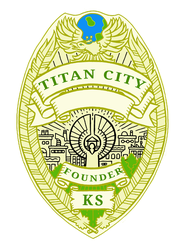City Of Titans Badge by lokiie1984