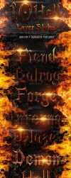 Hell Layer Styles by revn89