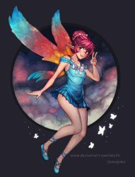 Collab - Erylia in the clouds! ^^ by jemajema
