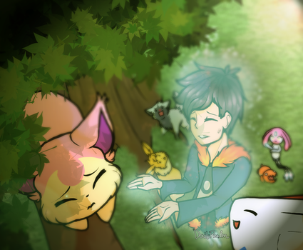 PTS- Skitty in Tree [Prompt] by DevilsRealm