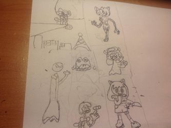 Unreal yet scary (doodle) by 5920002593