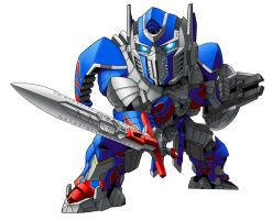 Optimus Prime by benisuke
