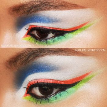 NEON MAKEUP by NaturallyErratic