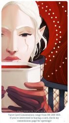 Warden Inessa: Queen of Cups by Paperwick