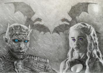 A Song of Ice and Fire by Quantum-Artist