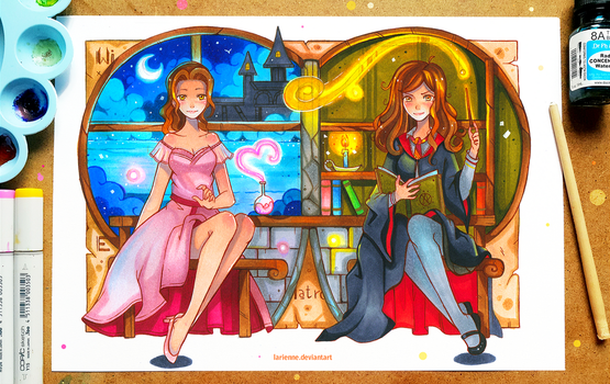 +Hermione Granger - Bewitching+ by larienne