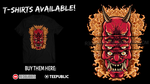 Oni t-shirt design by R3dFangz
