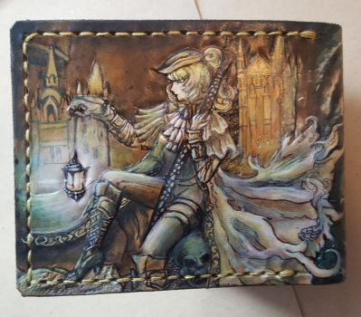 Bloodborne Maria leather wallet 4 by Bubblypies