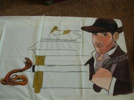 Indiana Jones pillowcase UF by modastrid