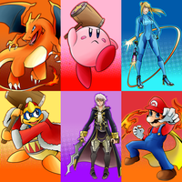 Hyper Clash Compadres: (SET 1) by AndrewMartinD
