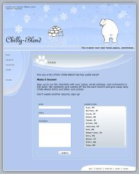 Chilly Blend Arctic Template by iamkoa
