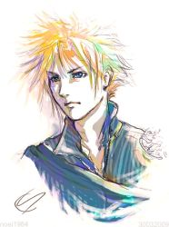 FFVII : Cloud Strife : Again.. by noei1984