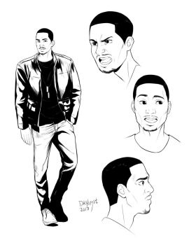 Character design: Michael by DKYingst