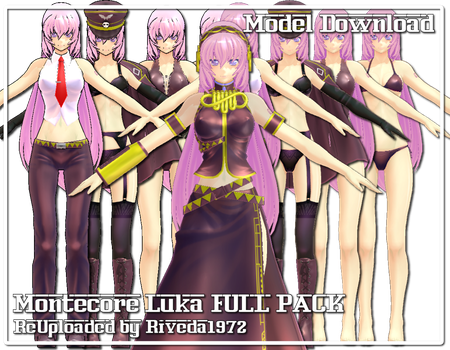 [MMD] Montecore Luka FULL PACK reuploaded by Riveda1972