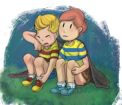 Lucas and Claus by hot-fish
