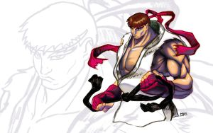 Street Fighter V Ryu is back ! by mehdianim