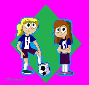 Kick Buttowski - Dynamite Soccer Gals by TXToonGuy1037